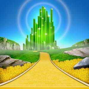 Wizard Of Oz Yellow Brick Road Clipart.