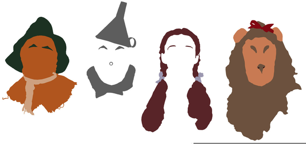 Wizard Of Oz Character Clipart.