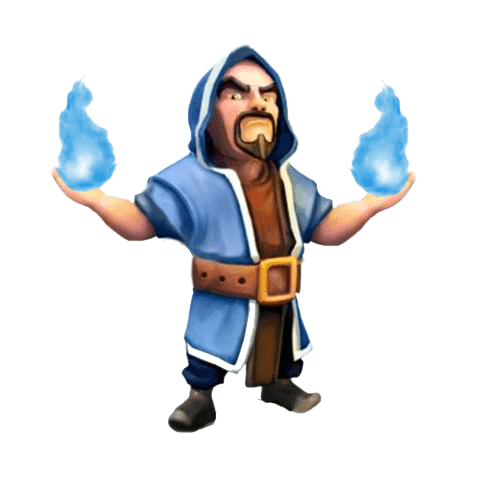 Clash Of Clans Wizard transparent PNG.