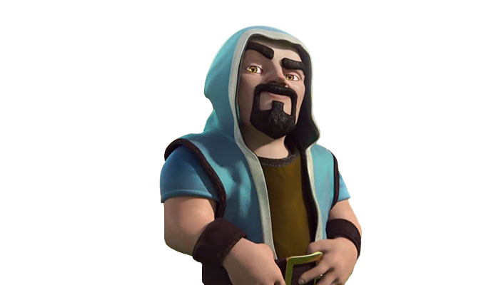 Download Clash Of Clans Wizard PNG.
