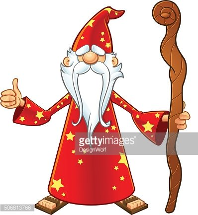 Red Old Wizard.