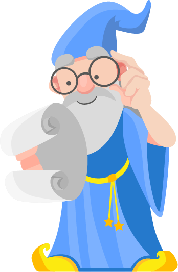 Clipart Of A Wizard.
