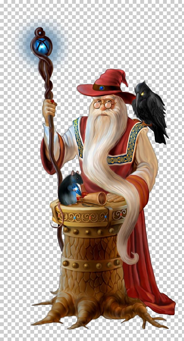 Transparent Wizard , magician illustration PNG clipart.