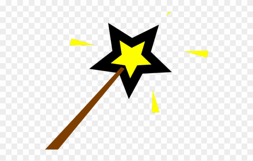 Magical Clipart Tinkerbell Wand.