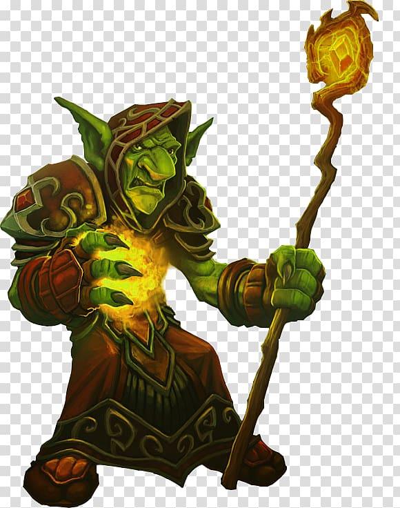 World of Warcraft: Cataclysm Goblin Wizard Worgen Elemental.