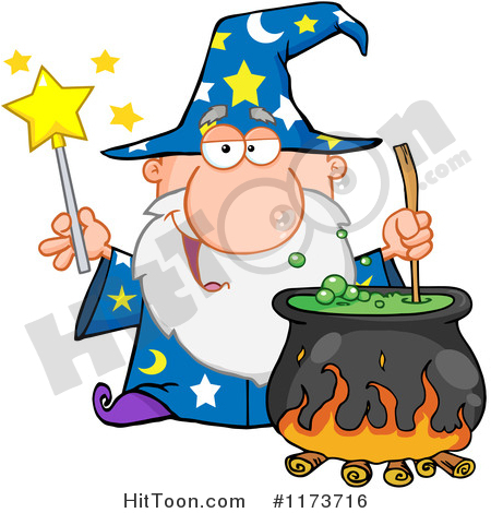 Wizardry Clipart #1.