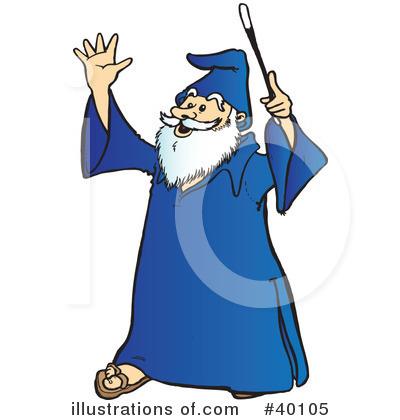 Wizard Clipart #40105.
