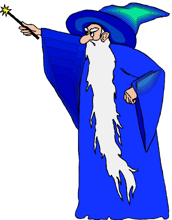 Wizard Clipart.
