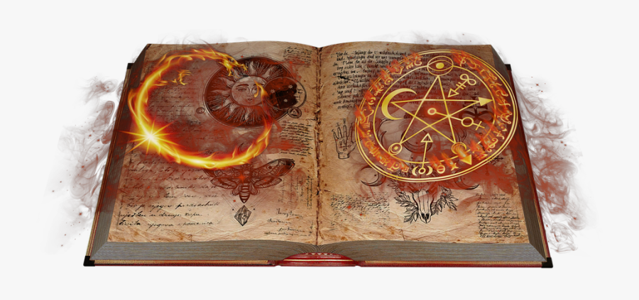 Book Books Magic Spells Wizard.