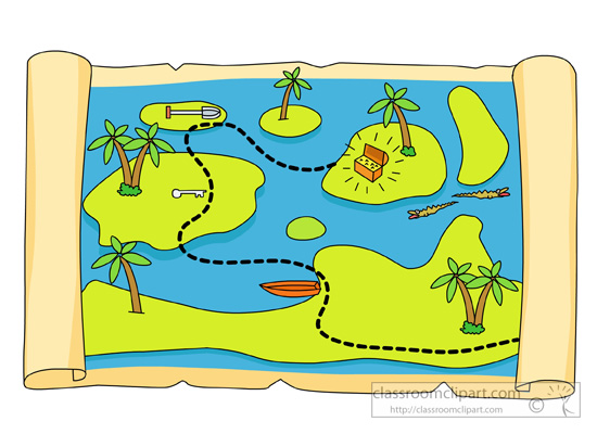 Map clipart #18