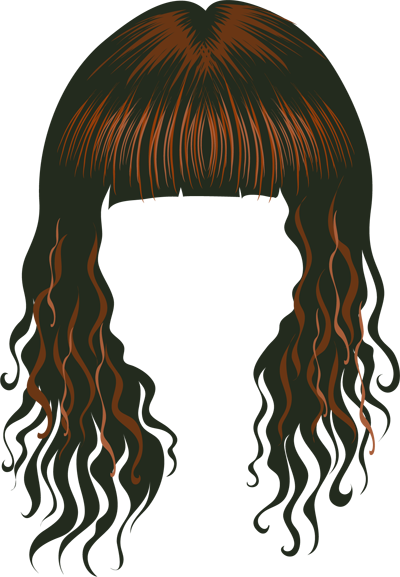 Wig Clipart.