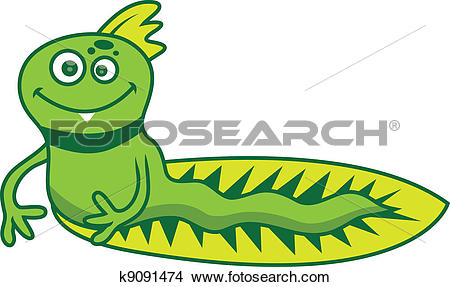 Clipart of critter wog k9091474.