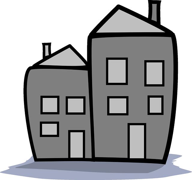 Kostenlose Vektorgrafik: Home, Gehäuse, Eigentumswohnung.