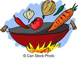 Wok clipart 7 » Clipart Station.