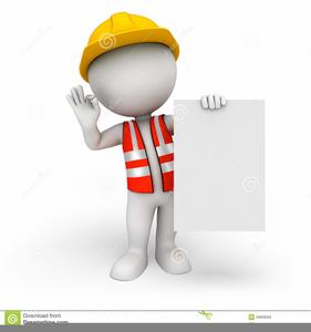Highway Worker Clipart.