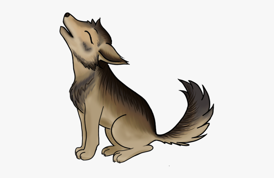 Look At This Adorbs Little Wolf Pup ^ ^.