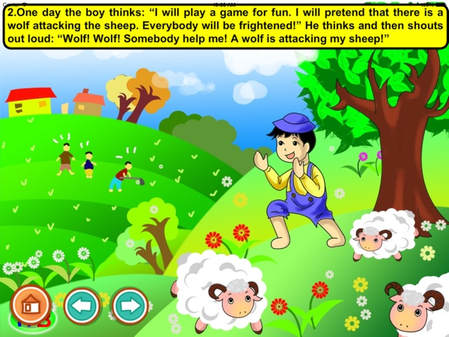 The Shepherd Boy (games and story for kids) on the App Store.
