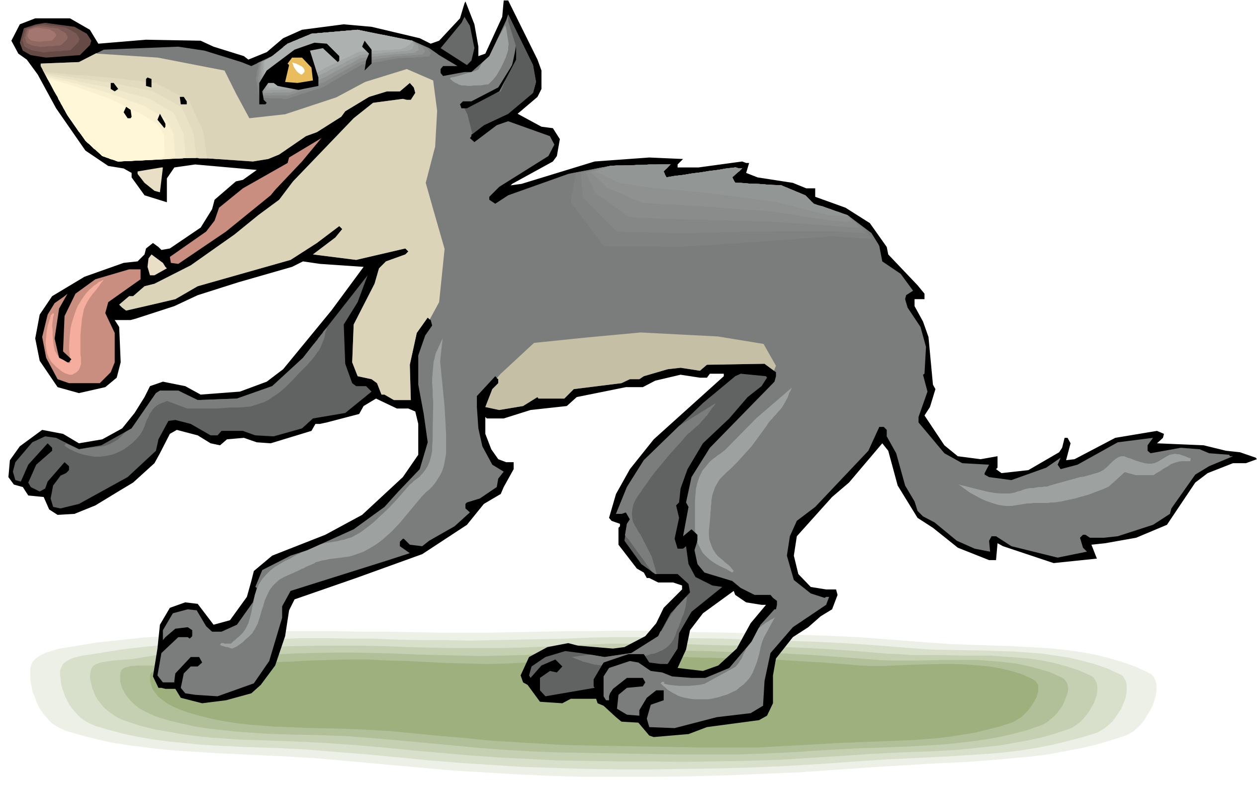 Free Animated Wolf Cliparts, Download Free Clip Art, Free Clip Art.