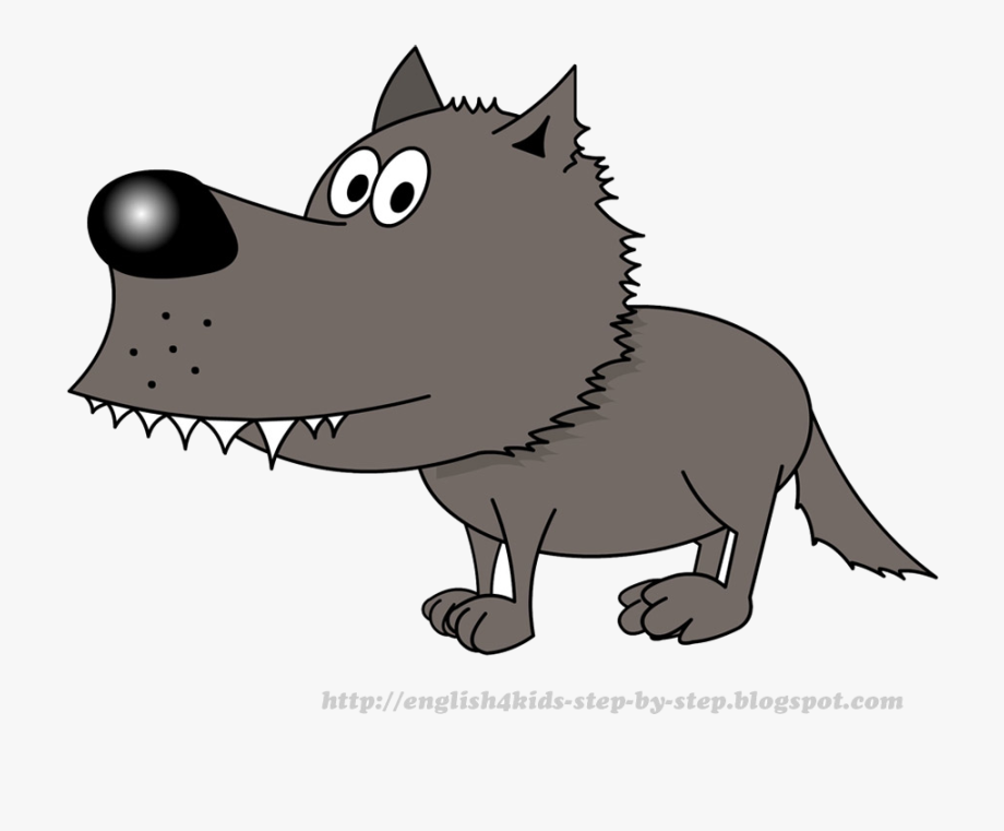Wolf Cartoon Pictures Free Clipart Images Transparent.