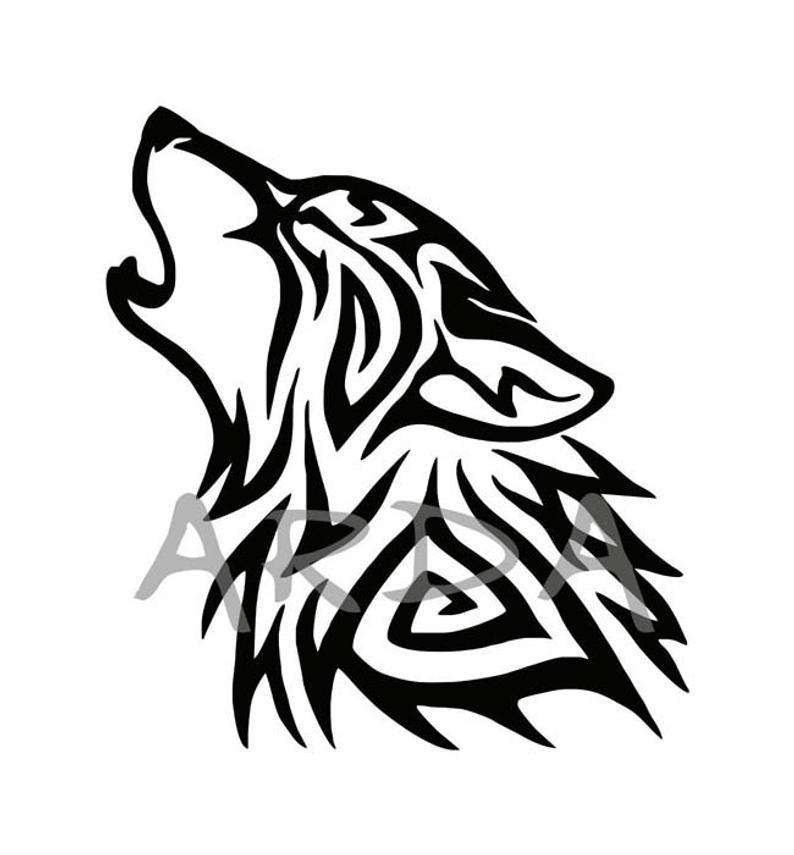 Wolf SVG File / Wolf Head SVG / Wolf Clipart / Wolf Head Clipart / Wolf  Vector / Wolf design / Silhouette / Cricut.