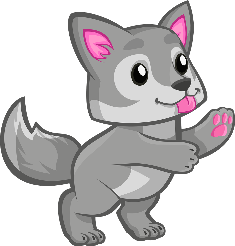 Free Cute Wolf Cliparts, Download Free Clip Art, Free Clip.