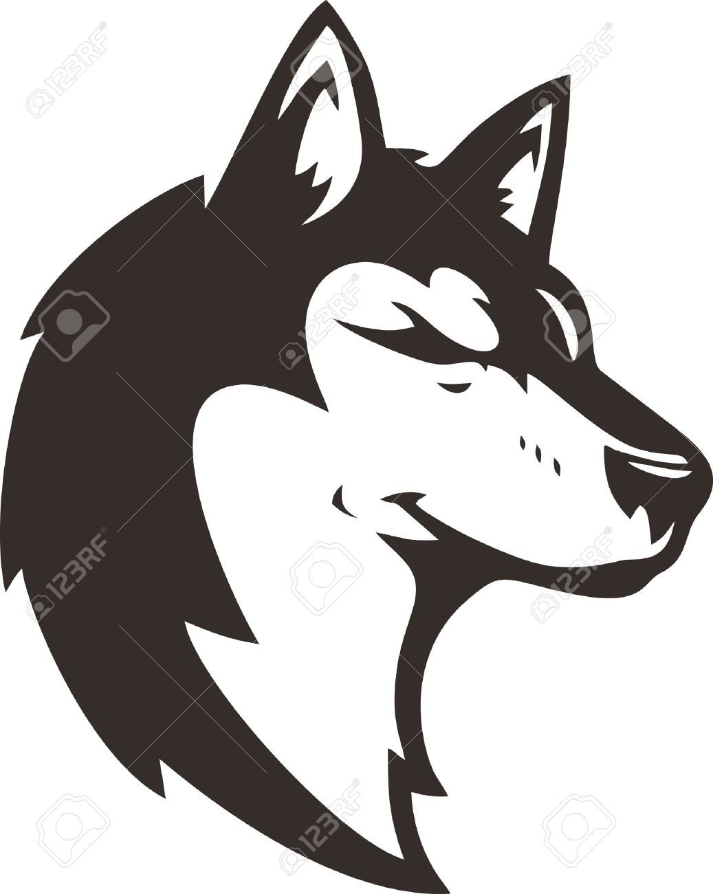 Gray Wolf Clipart for download free.