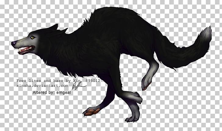 Siberian Husky Black wolf Jacob Black Puppy Drawing, running.
