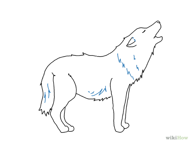 Free Easy Wolf Drawings, Download Free Clip Art, Free Clip.