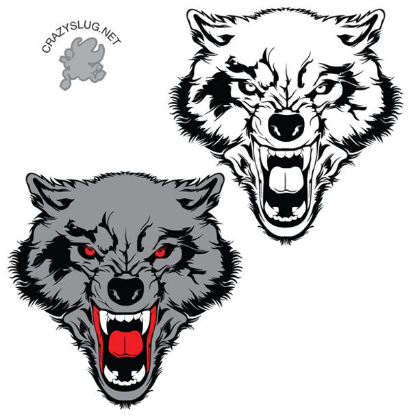 Wolf Vector Free.