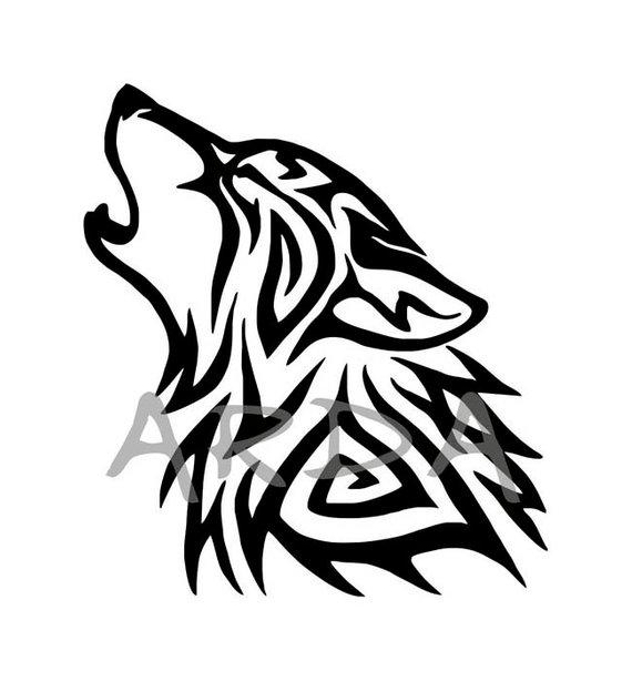 Wolf SVG File / Wolf Head SVG / Wolf Clipart / Wolf Head.