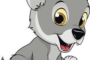Wolf cub clipart 4 » Clipart Portal.