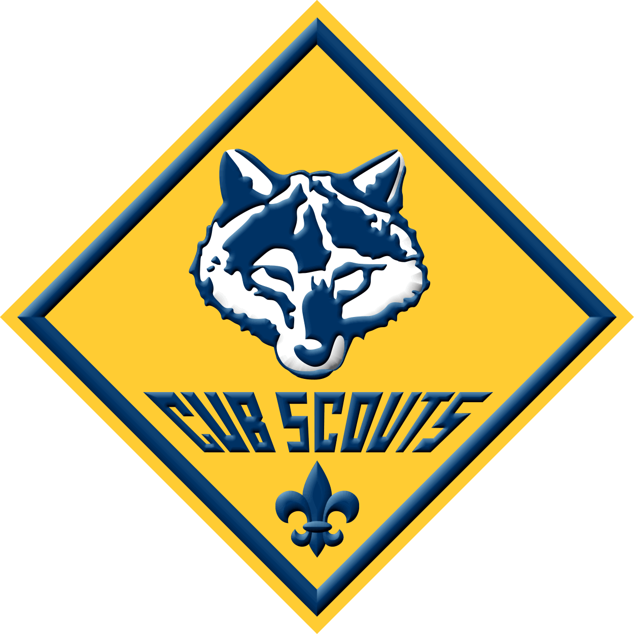cub scout wolf patch.