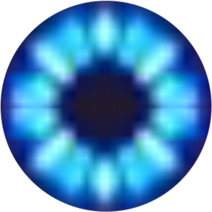 Blue Eye Png Clip Art Black And White.