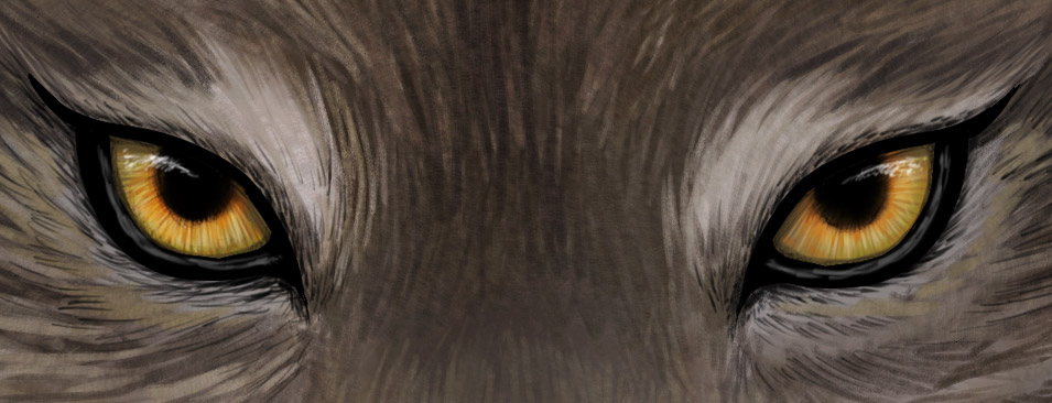 Wolf Eyes Silhouette.
