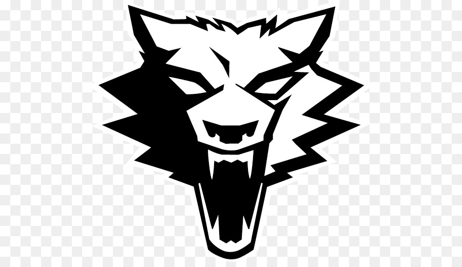 Wolf Logo clipart.