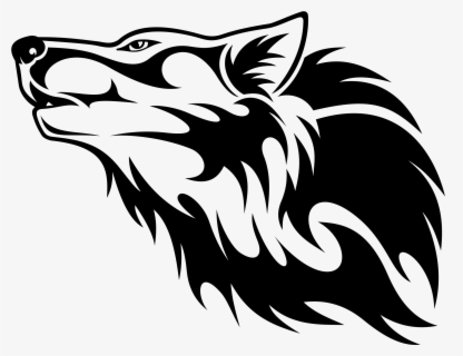 Free Wolf Head Clip Art with No Background.