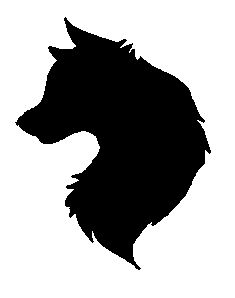 Wolf Head Silhouette Free Download Clip Art.