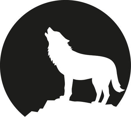 1,448 Wolf Moon Cliparts, Stock Vector And Royalty Free Wolf Moon.