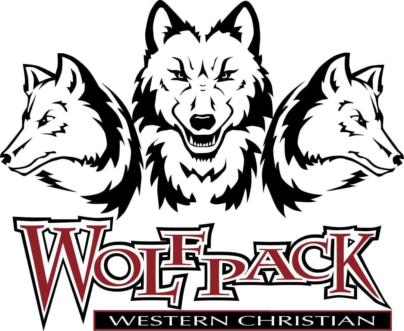 Wolf pack logo design - photo#45
