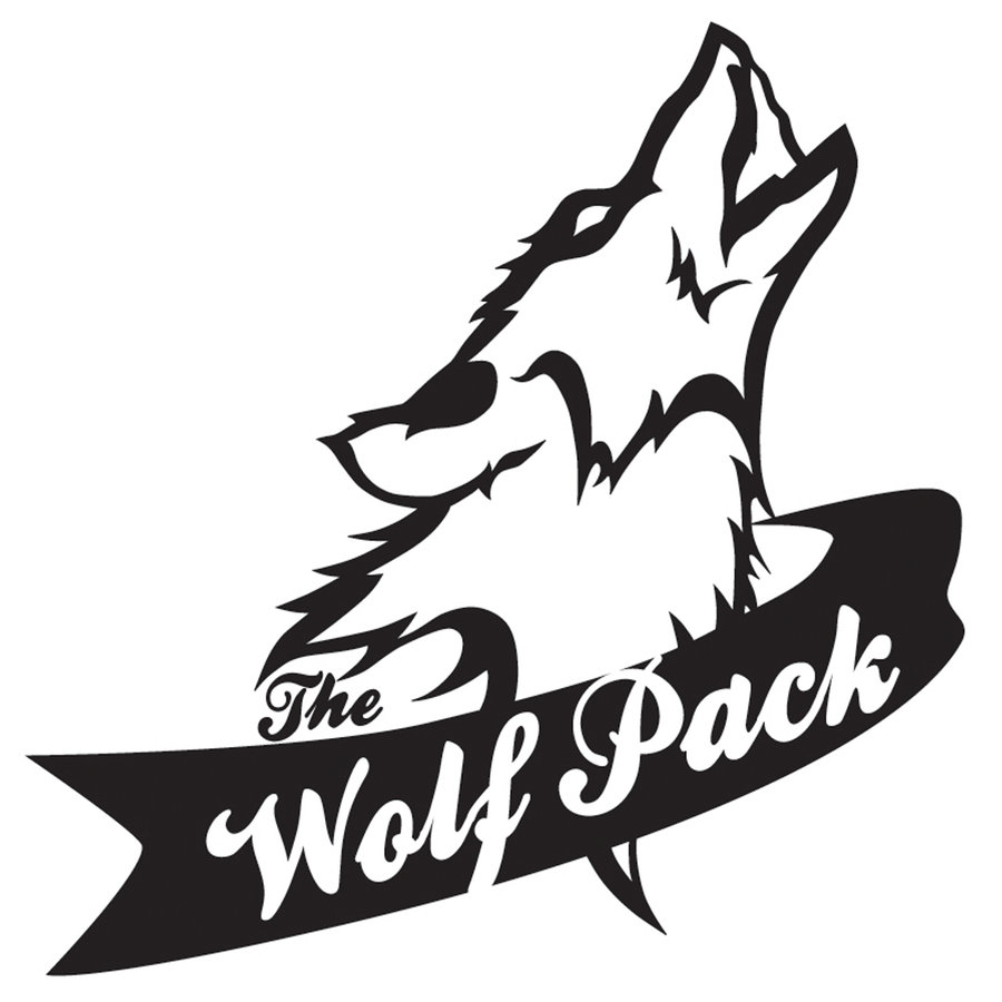 Wolfpack clipart.