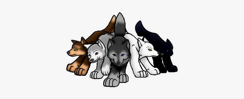 Wolf Pack Png Clip Art Library Stock.