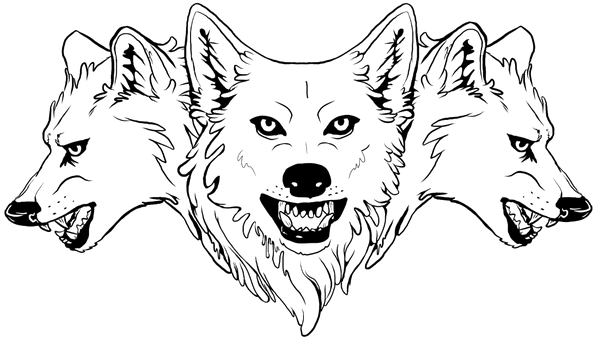 Wolf Pack Transparent Images.