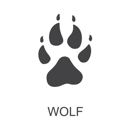 1,879 Wolf Paw Stock Vector Illustration And Royalty Free Wolf Paw.
