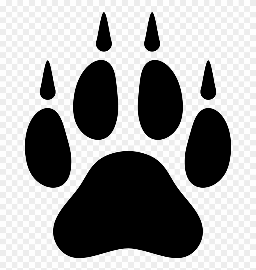 Wolf Paw Print Png & Free Wolf Paw Print.png Transparent.