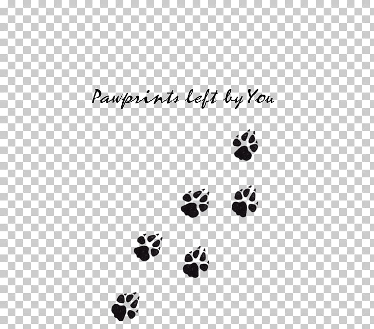 Paw Dog Cat Tattoo Animal track, Wolf Paw PNG clipart.