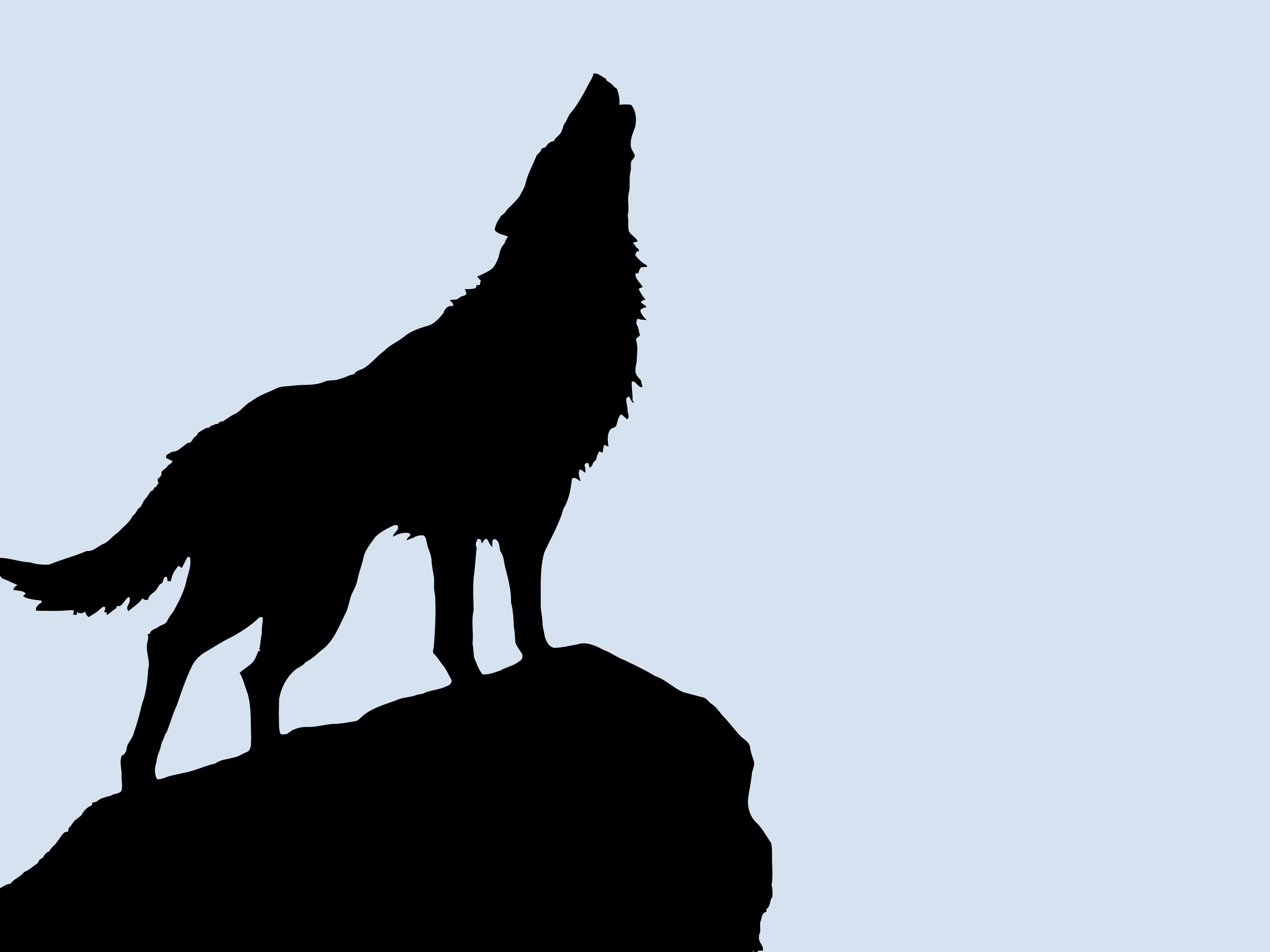Free Wolf Silhouette Art, Download Free Clip Art, Free Clip.