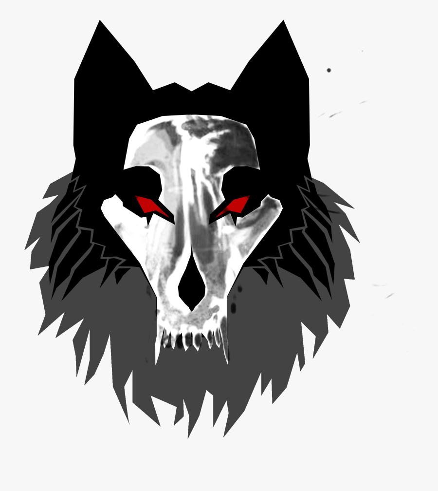Skull Wolf Png Logo , Free Transparent Clipart.