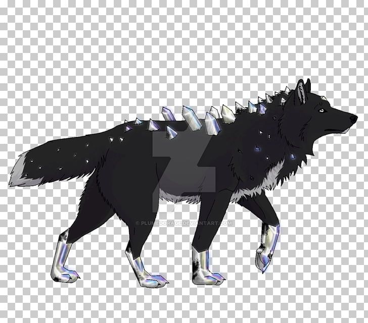 Canidae Dog Mammal Tail, wolf and moon PNG clipart.