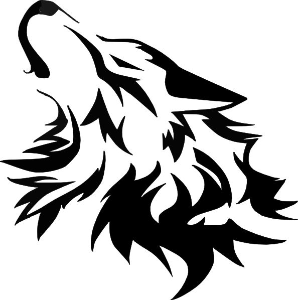 Wolf Vector Clip Art at Clker.com.