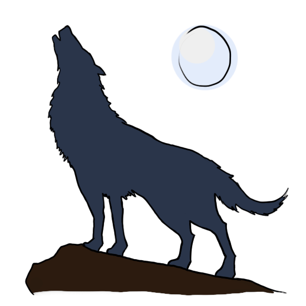 Mountains clipart wolf, Mountains wolf Transparent FREE for.
